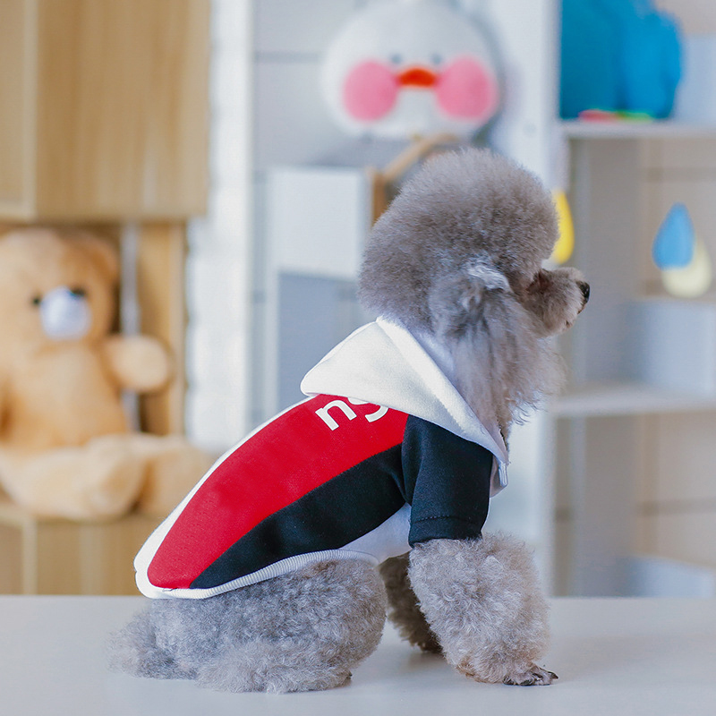 Fashion Dog Clothes For Small Dogs Cotton Hooded Coat For Chihuahua French Bulldog Hoodies Yorkshire Puppy Pet Costume PC0646