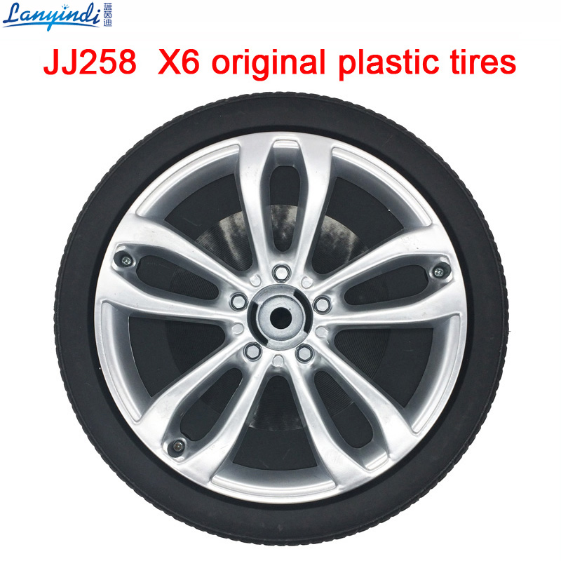 Children Electric Car Jj258 X6 Original Plastic Tires Children S