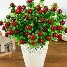 Искусственные фрукты эвкалипта искусственные растения богатый фруктовый букет suiside девушка 5 веток