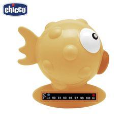 Термометр для ванны Chicco Baby Moments Рыба-шар, 0 мес.+, цвет желтый