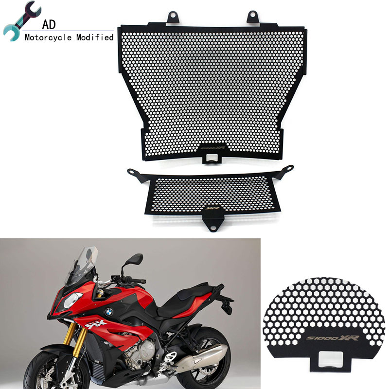 For BMW S1000XR 2015 2016 2017 2018 Radiator Guard Accessories Motorcycle Grille Motorbike Parts Grill Cover For BMW S1000 XR(China)