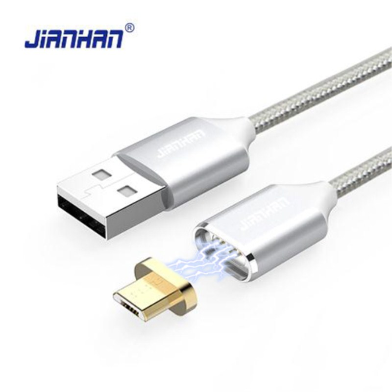 цена на Magnetic Cable Micro usb Type C Fast Charging Adapter Phone Microusb Type-C Magnet Charger usb c Data For Huawei Samsung xiaomi