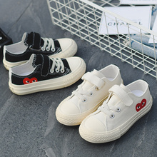 Boys Girls Sneakers Spring Summer Infantil Flat Train Childrens Canvas Shoes For Fashion