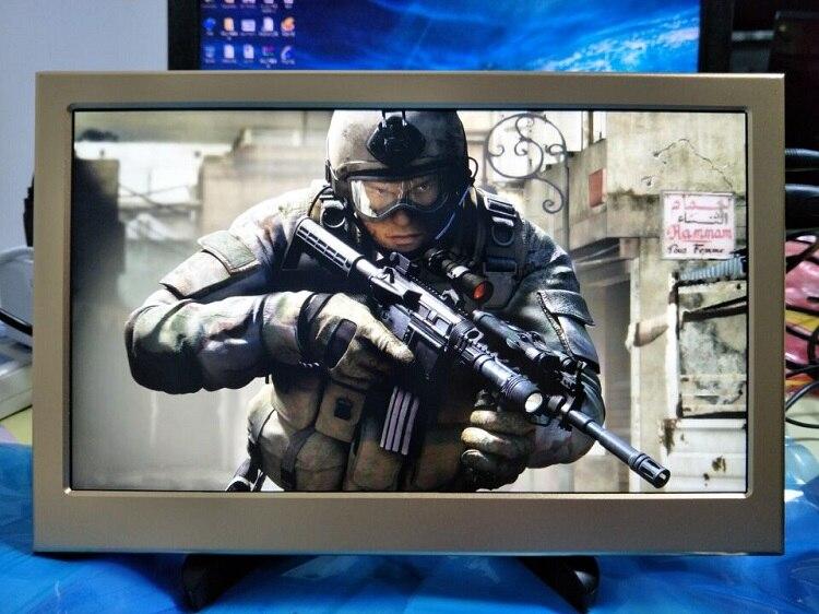 11,6 дюймов ips HDMI VGA, DVI Экран дисплея с Динамик VESA наушники Порты и разъёмы 1080 P Портативный монитор для Raspberry Pi Xbox PS4