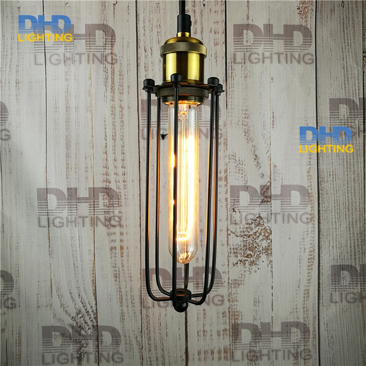Free shipping metal lamp long cage Copper lamp holder cages vintage pendant light pendant light bulb Antique lamp old antique bronze doctor who theme quartz pendant pocket watch with chain necklace free shipping