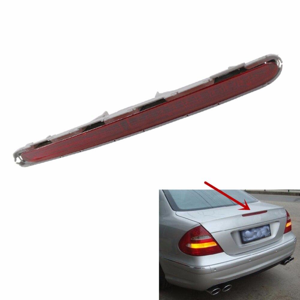 Хвост сзади стоп уровня высоты тормозной фонарь светодиодный красный седан для Mercedes Benz E Class W211 2003-2006 автомобиль-Стайлинг