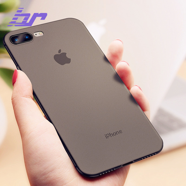 best sneakers 54d34 edd3e US $6.65 |BR Luxury Phone Case For iPhone 8 7 Plus Cases Ultra Thin PC Slim  Transparent Back Cover Case For iPhone 7 8 Plus X Fashion Shel-in Fitted ...