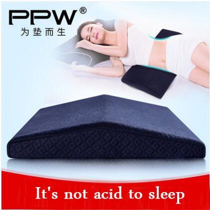 Analitico Ppw Memory Foam Cuscino Lombare Triangolo A Pelo Vita Sostegno Per La Schiena Cuscino Pad Cuscino Incinta Protezione Cervicale Cuscino