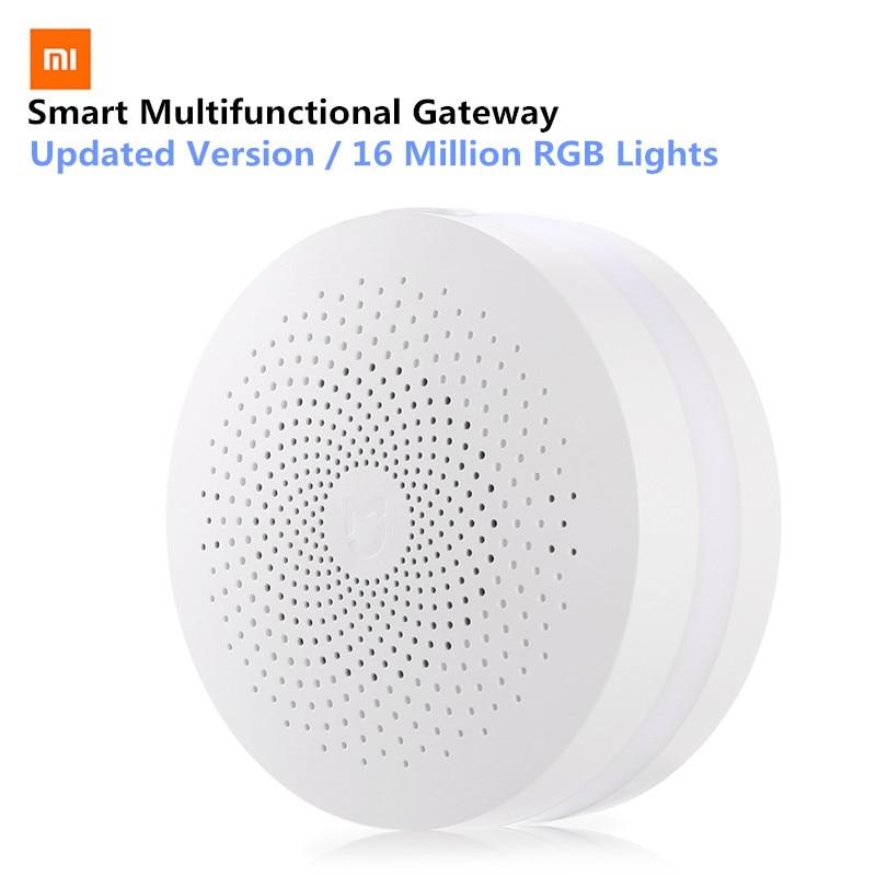 Original Xiaomi Mijia Smart Multifunktionale Gateway Upgrade-Version WiFi Remote APP Control Center für Smart Home