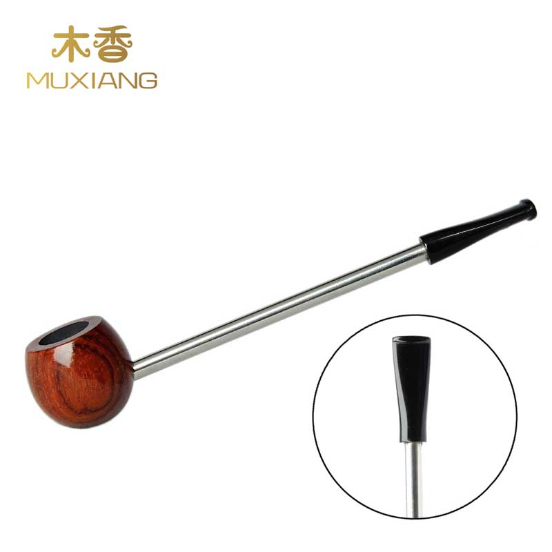 MUXIANG Long Straight Shank Popeye Type Rosewood Mini Tobacco Pipe Cigarettes Pipe Portable Beginner Smoking Pipe China ad0071 ...