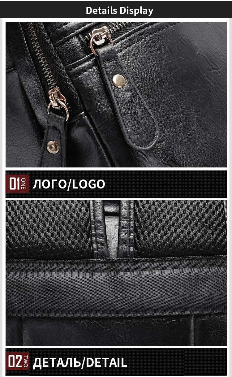 Topdudes.com - Business Casual PU Leather Fashion Shoulder Bags