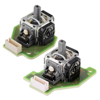 50Pairs a lot For Wii U WIIU GamePad Controller 1 Pair Left & Right 3D Analog Stick  Joystick PCB Board  Repair Parts Replacemen