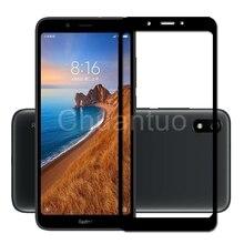 25 יח\חבילה מלא כיסוי מסך מגיני Xiaomi Redmi 7A שריטה הוכחת מגן קולנוע מזג זכוכית עבור Xiaomi Redmi 7A