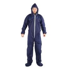 Giantree защитная одежда рабочая одежда химическая одноразовая Защитная одежда костюм комбинезон Чистый одноразовый компактный