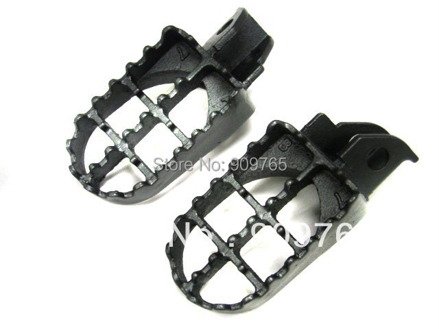 Pair for Suzuki STEEL FOOT PEGS 1990-1998 DR250 DR350 DR650 DR 250 350 650 FOOTPEGS