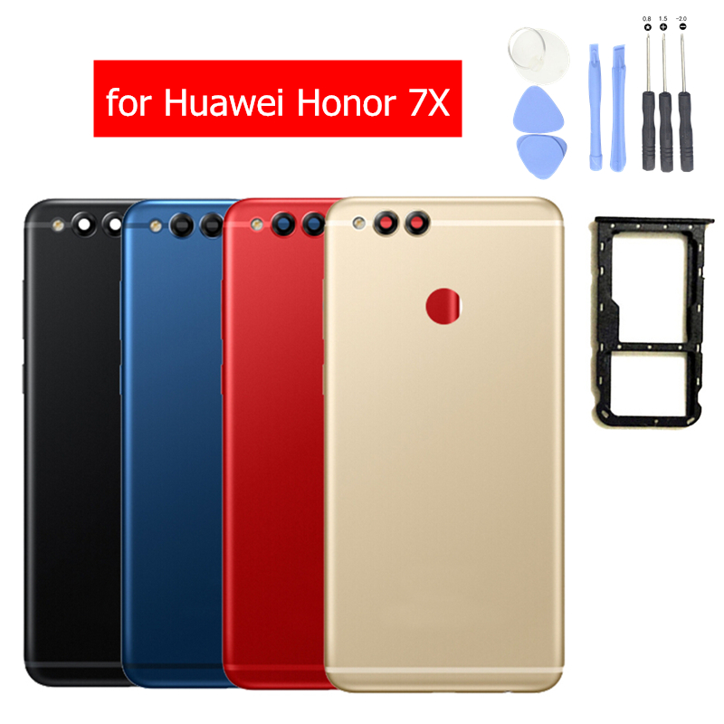 Tray-Holder Battery Back-Cover Door Huawei Rear-Housing Honor Repair-Spare-Parts Metal