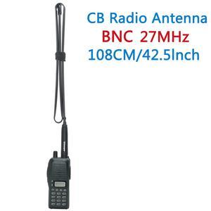 Image 5 - ABBREE التكتيكية هوائي 27 ميجا هرتز 72/108 سنتيمتر CB راديو محمول مع BNC موصل ل كوبرا ميدلاند unull Anytone CB راديو