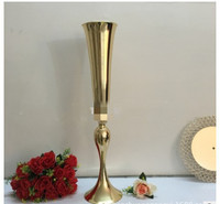 Trumpet vase, wedding props, mermaid main table vase T Taiwan Road Home flower arrangement decoration