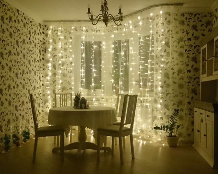 4.5x3M 300LED Outdoor Holiday Lighting Christmas Decorative xmas ...
