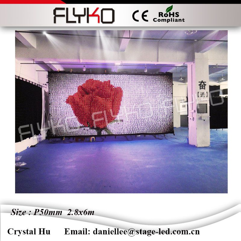 Ph50mm 2 8x6m Led Video Cloth Musical Scenic Design Bar Background Equipment Stage Led Scenery Vision Curtain Stage Led Led Video Clothled Vision Curtain Aliexpress
