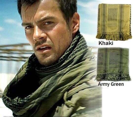 2019 Neuer Stil Kostenloser Versand Tactical Military Shemagh Tactical Wüste Arab Schals Keffiyeh Schal Arabisch