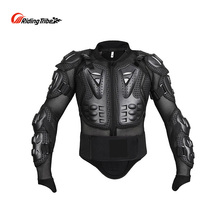 Motorcycle Jacket Armor Motorbike Motocross Rider Coat Chest Back Shoulder Elbow Protector Kit Full body Protective Gear HX-P14
