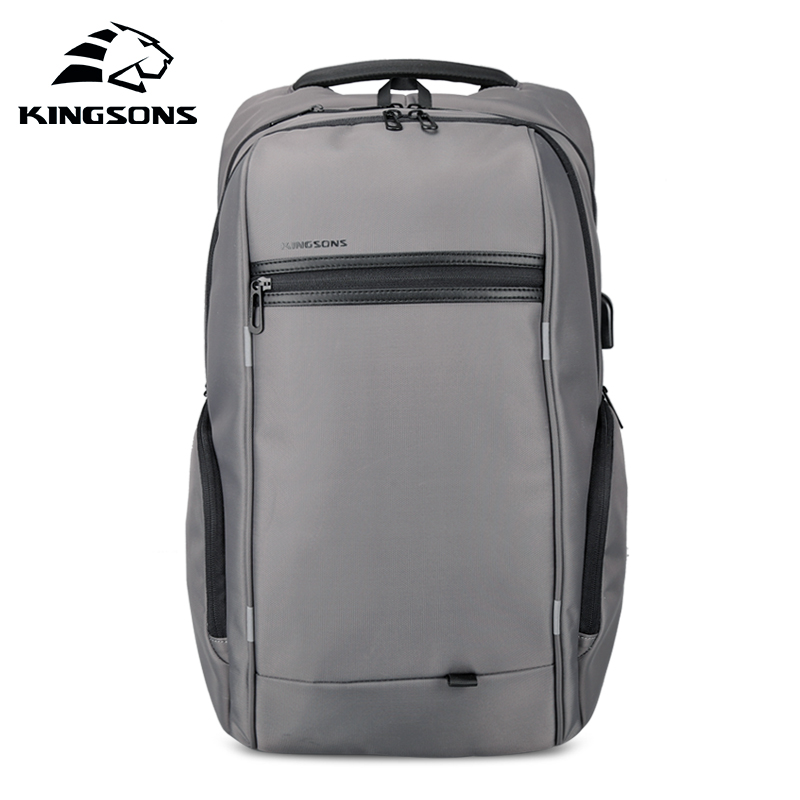 KINGSONS 2019 New 15 17 Inch Men Women Fashion Laptop Backpack Wear-resistant Business Leisure Travel Student BackpackKINGSONS 2019 New 15 17 Inch Men Women Fashion Laptop Backpack Wear-resistant Business Leisure Travel Student Backpack