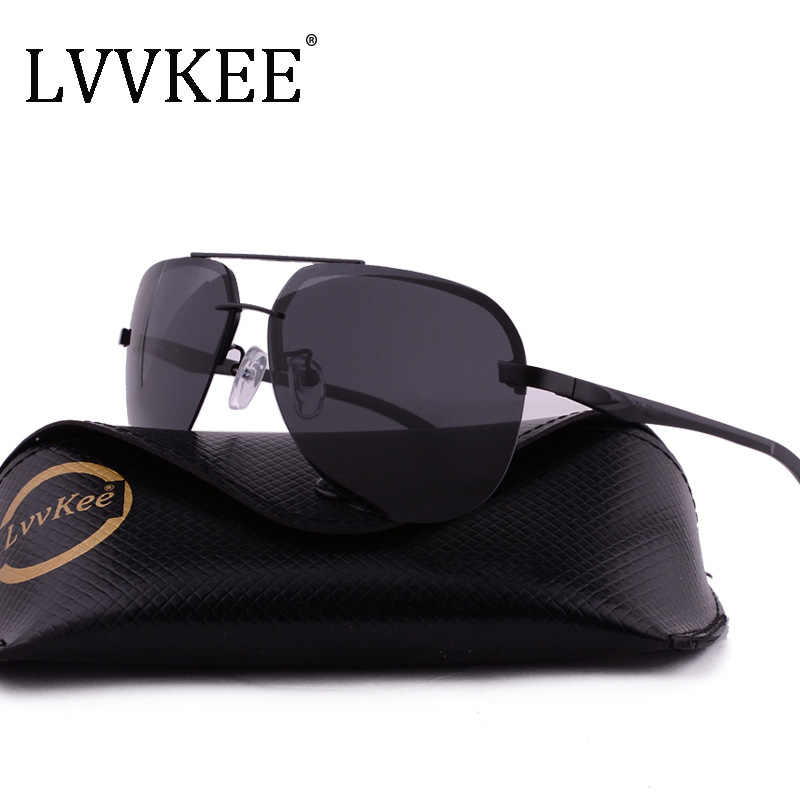 2017 Luxury Brands Classi Aviator HD Polarized Men women Driver Mirror sunglasses Polaroid Rimless sunglasses Top quality UV400