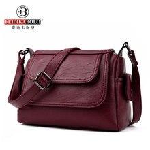 Mode Frau Tasche Leder Umhängetasche Frauen Messenger Bags Weiblichen Schulter Handtasche 2017 Crossbody Taschen Für Frauen Sac Femme