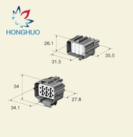 6189 0134 6181 0075 Sumitomo 2.2mm 8 pin 8 way male and female auto waterproof electric waterproof plastic connector