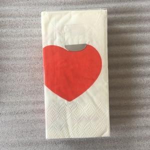 Image 4 - Vintage Servet Papier Tissue Gedrukt Rode Liefde Hart Bruid Bruidegom Voor Ooit Kleine Zakdoek Bruiloft Servetten Partij 2 Packs = 20 Pcs