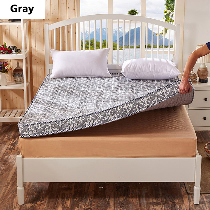 songkaum new style high resilience memory foam mattress classic design whitegray high quality thick - Cheap Memory Foam Mattress