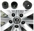 10pcs/set Selling17mm Car Plastic Caps Bolts Head Covers Nuts Alloy Wheel Protectors For Fits VW Jetta Golf Passat CC with tools