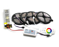 IP20 IP65 Waterproof 5M 10M 15M 20M 5050 RGB LED Strip Set With 2 4G Touch