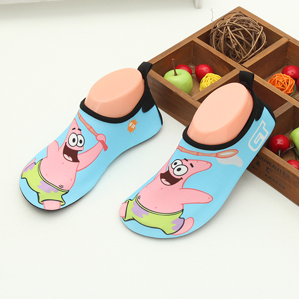 Unisex Barefoot Skin Shoes Boys Girls Water Sport Socks Surf Children ultra-light Beach Shoes Baby Cartoon Soft Socks Slip Shoes