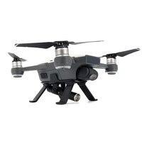 JMT Landing Gear Skid Vuelo Nocturno Luces Luz LED Lámparas para Spark RC FPV Mini Drone DJI Repuestos