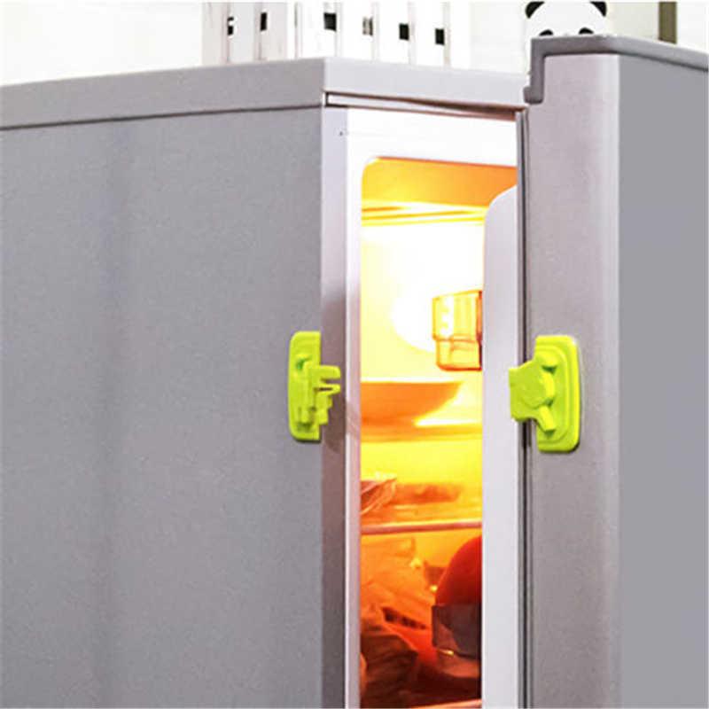 Bảo vệ Trẻ Em Trẻ Em Bé Pet Khóa Bằng Chứng Tủ Lạnh Doorb Tủ Tủ Lạnh Tủ Ngăn Kéo An Toàn Khóa Chặn Ổ Khóa