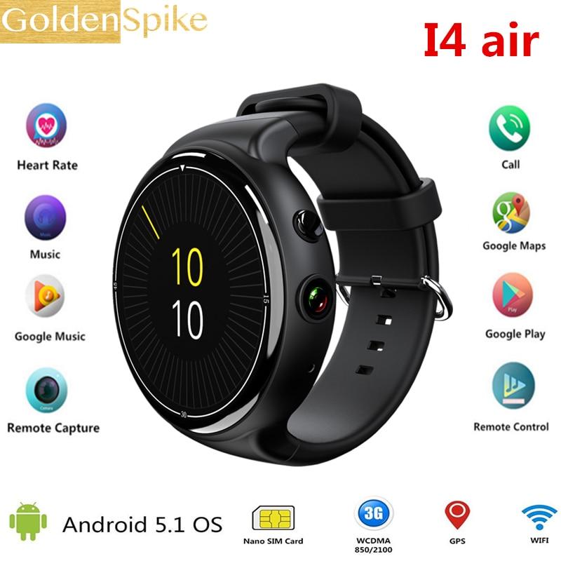 IQI I4 Air 3g SIM карты Смарт часы телефон Ultra Slim gps Smartwatches для мужские пары водостойкий Поддержка Multi язык