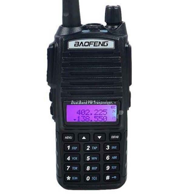 Baofeng UV-82 walkie talkie cb radio UV82 portable two way radio Double PTT Button FM radio transceiver long range hunting radio