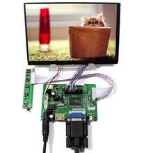 цена на HDMI+VGA+2AV+Remote Lcd controller Board VS-TY2662-V1+7inch 1280*800 N070ICG-LD1/LD4  IPS LCD