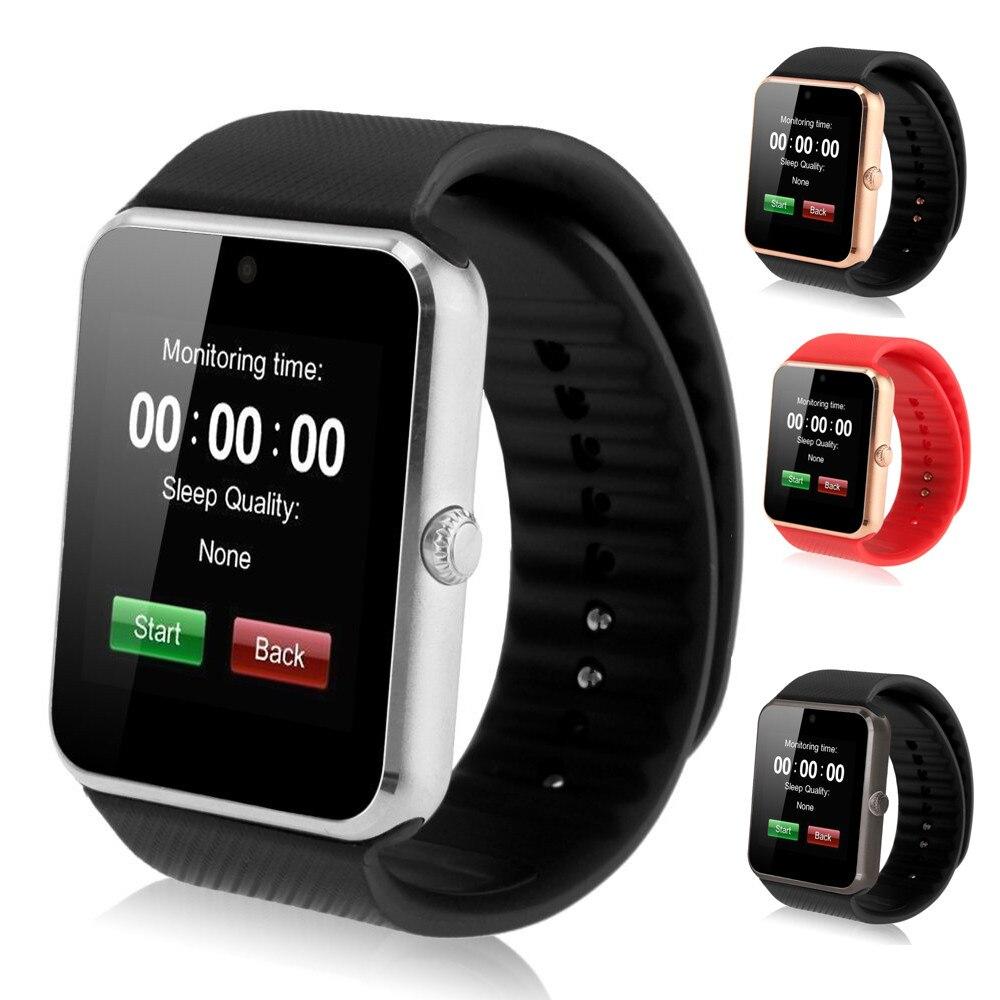 Orologio intelligente Orologio di Sincronizzazione GT08 Notifier Supporta Sim Card Connettività Bluetooth Android Phone Smartwatch di Sport di Modo