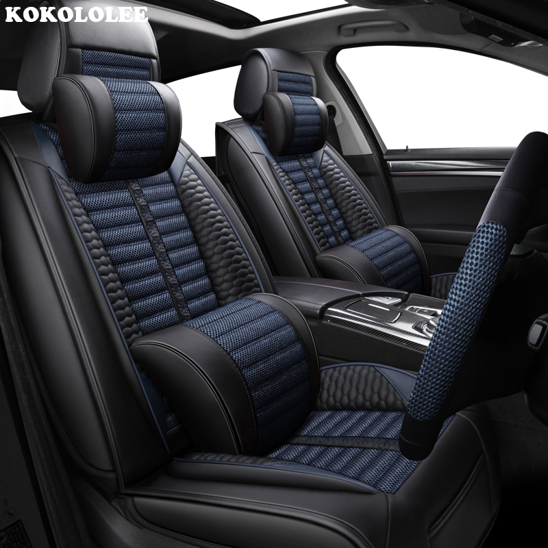 KOKOLOLEE Car Seat Covers For Acura All Models MDX RDX ZDX
