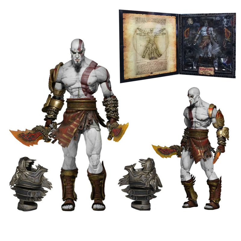 New arrivals God of War 3 Ghost of Sparta Kratos PVC Action Figure Collectible Model Toy 22cm [resin made] 1 4 scale god of war 3 kratos resin figure statue fans action figure collectible model toy 35cm retail box wu785