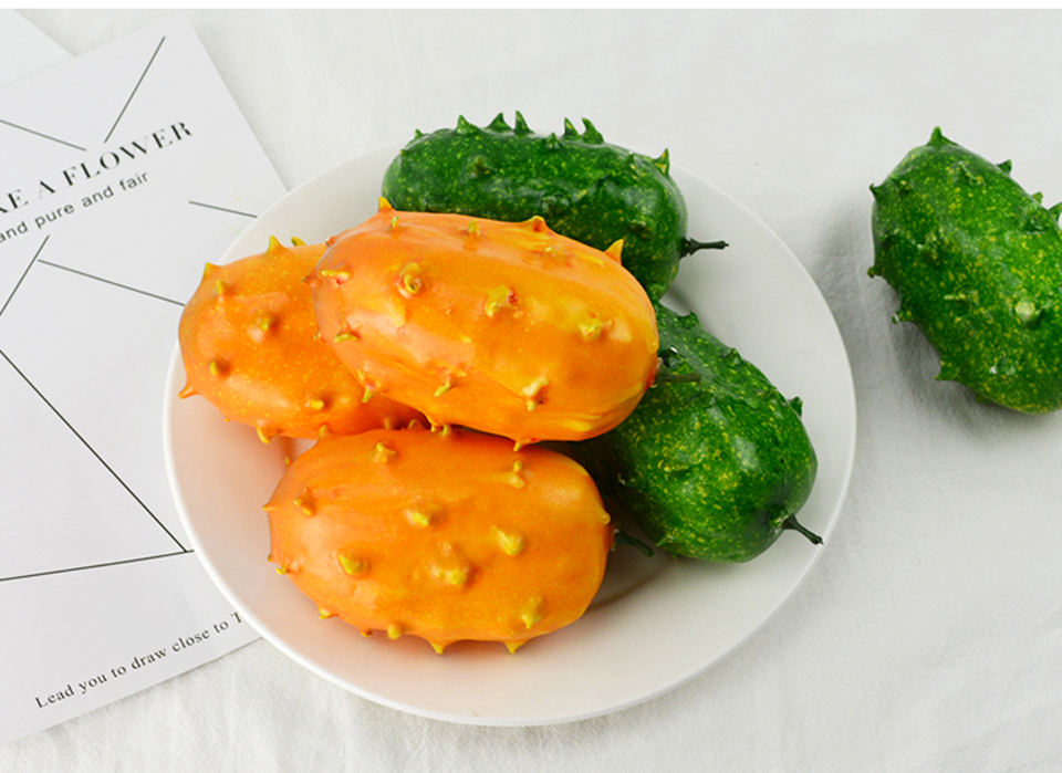 050 Fake fruit simulation fruit decoration model creative display model fire ginseng fruit props Fire ginseng fruit 12 7 5cm in Artificial Foods Vegetables from Home Garden