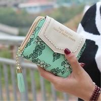 Summr Style MultiColor Long Clutch Candy Color Polka Dot Women Wallet Carteira Feminina Coin Purse