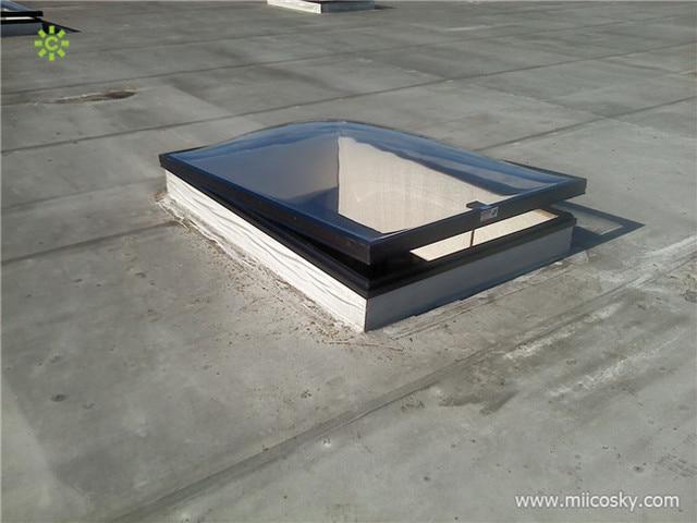 Comercial techo tragaluz cuadrada claraboya c pula for Cortina para claraboya de techo