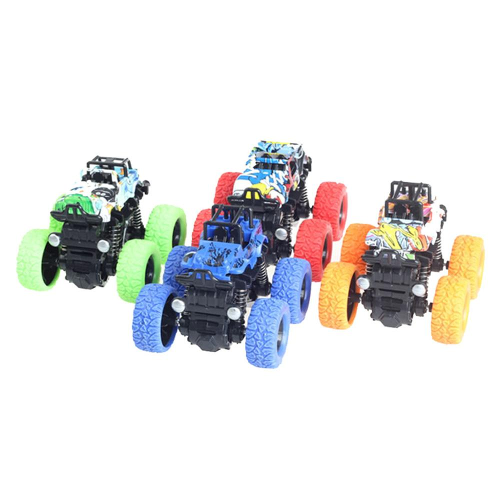 Inertia Four Wheel Drive Mini Toy Car Off Road Vehicle Toy Car COOL Gift