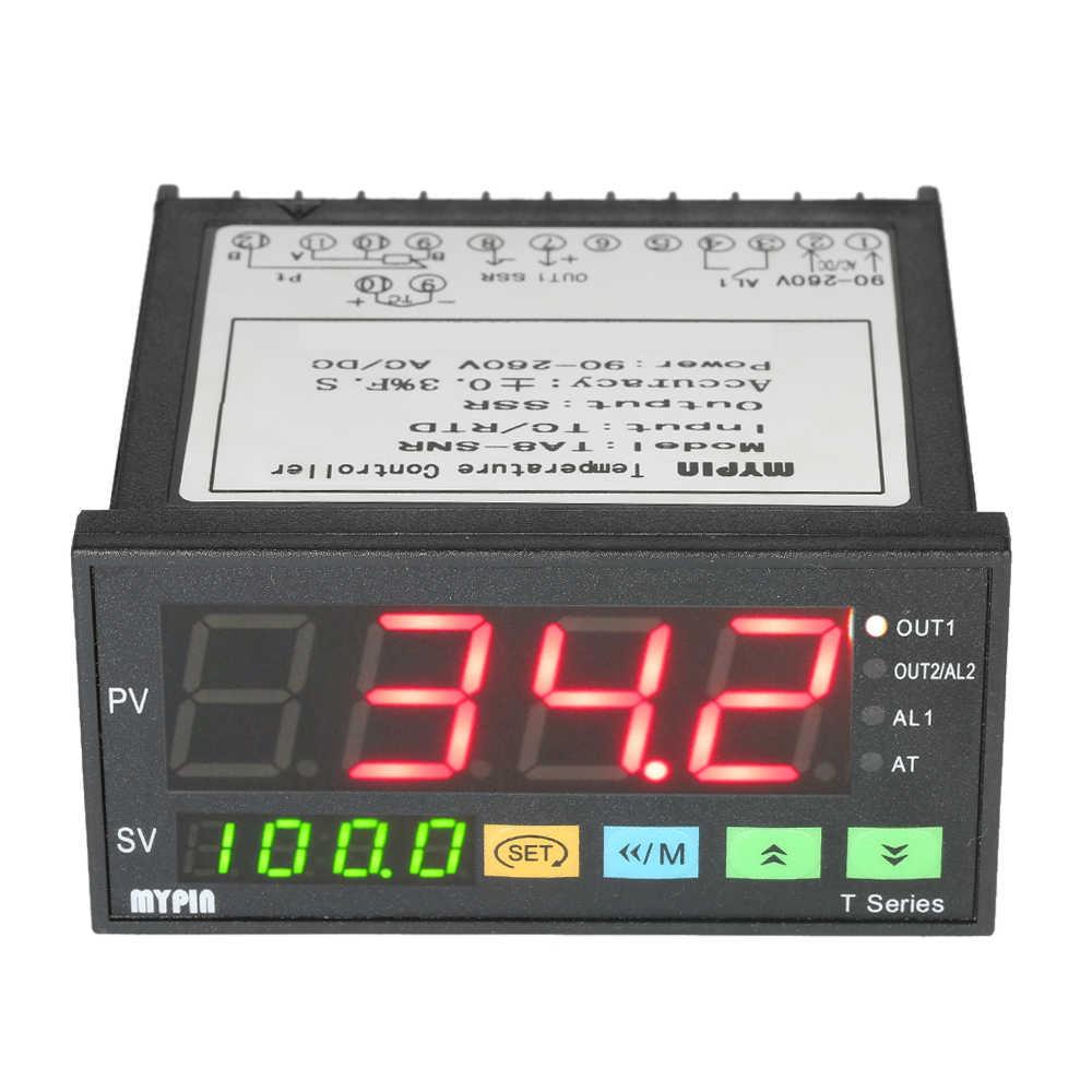 MYPIN термометр интеллектуальный тепловой регулятор датчик температуры контрольный Лер мини-термостат контроль pid TC/вход RTD SSR выход