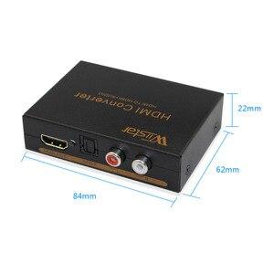 Image 2 - Wiistar hdmi vers hdmi & R/L & spdif audio avec 2.1/5.1ch hdmi audio extracteur livraison gratuite