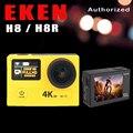 """Câmera ação H8R EKEN H8 VR360 ultra 4 K/30fps Wi-fi 2.0 """"Dual LCD Controle Remoto pro Capacete Cam ir câmera à prova d' água esporte"""